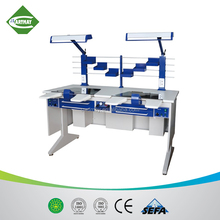 2018 aesthetic appearance and quality first dental laboratory furniture, dental workstation