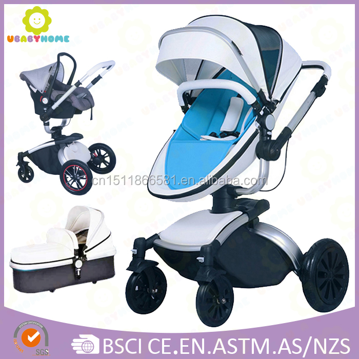 Deluxe 3in1 Baby Stroller EN1888 Certificate with car seat and carrycot