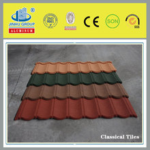 Colorful Sand Coated Steel Roof Plate/modern facade materials