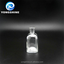50ml small glass diffuser bottle making company with wooden cork stopper