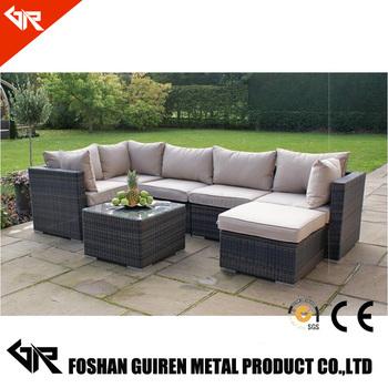 Poly Rattan Outdoor Patio Sofa Furniture Used In Rattan