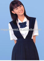 Hot Selling School uniform! High School Uniform Shirt and Dress