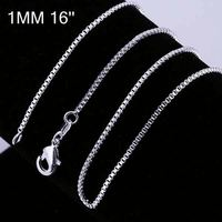 New simple design factory price 925 silver chain pure silver chain CC007-16