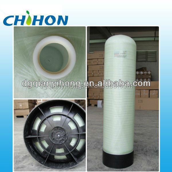 "High-exposy Natural color composite material 10""x54"" PE liner FRP tank"