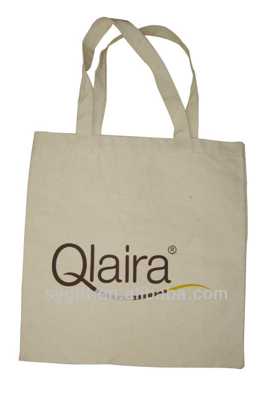 eco-firendly reusable cotton shopping bag