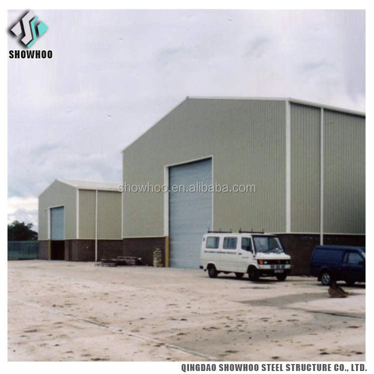 High Quality Metal Frame Warehouse Prefabricated Storage Sheds