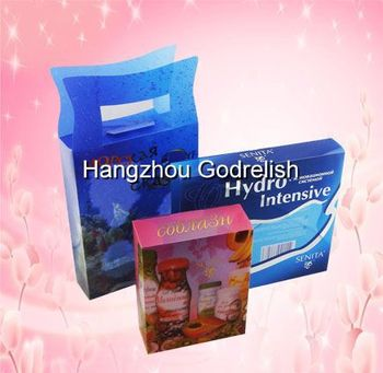 New design chocolate plastic box packaging with low price