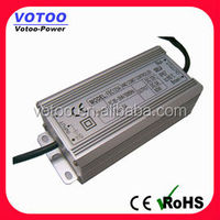 12v led driver Constant voltage waterproof ip67 60W with CE, RoHS