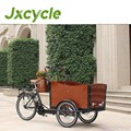 lithium battery 36v cargo 3 wheel motorized bike