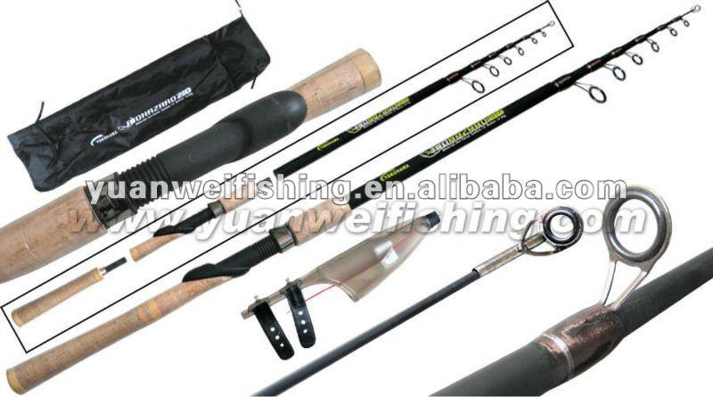 Corto portable telesc pica pesca rod ca as de pescar for Fishing rod in spanish