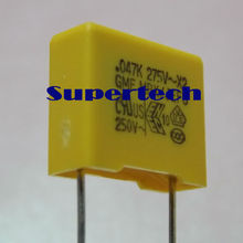 made in taiwan products of MKP x2 capacitor 0.1uf 275v