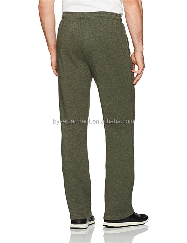 Byval Wholesale Men Blank Jogger Sweatpants Running Pants 100% Cotton Running Sweatpants