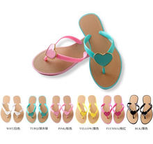 high quality sexy hot seller colorful beach plastic jelly sandals injection pvc sandals flip flops