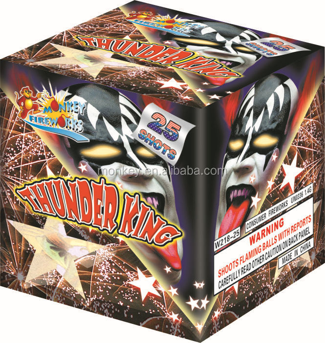 25 SHOTS PYROTECHNICS CAKE FIREWORKS/fuegos artificiales/STOCK SUPPLY