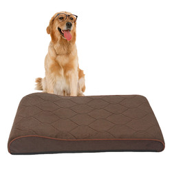 Pet Products Solid Memory Foam Orthopedic Dog Bed For Dogs