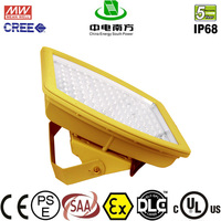 ATEX flameproof 40-185W explosion proof led high bay light IP68