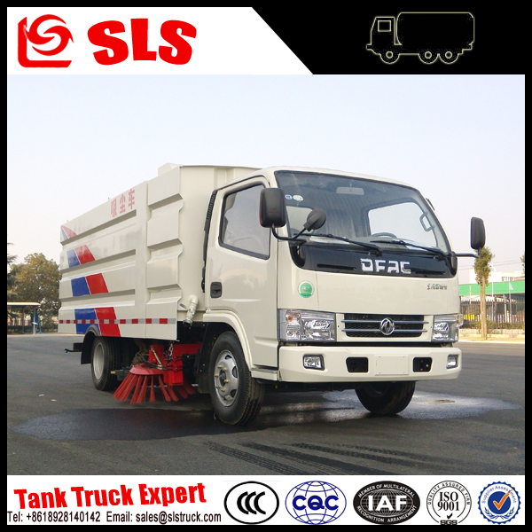 Sanitation portable street sweepers truck