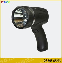 POPULAR!!!BL-7603 3W 25000lux/270Lm LED rechargeable led searchlight camping hunting portable handheld light