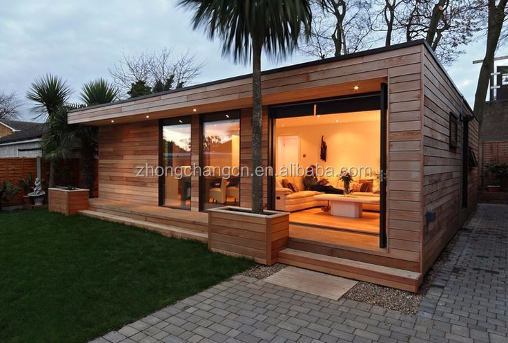 Wood Wall Cladded to Sandwich Panel Cheap Modular Home for Sale