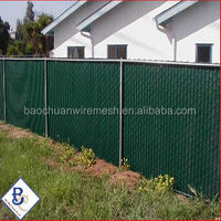 high security Aluminum Slats for Chain Link Fence