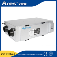 High quality PM2.5 purifying silent fresh air hvac