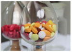 Colorful coating powder for weak tablets