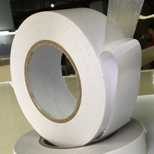 Acrylic adhesive double sided tissue tape solvent based