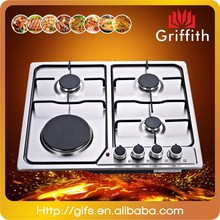 Stainless steel cast iron pan support 4 burner gas stove,cast iron gas cook stove