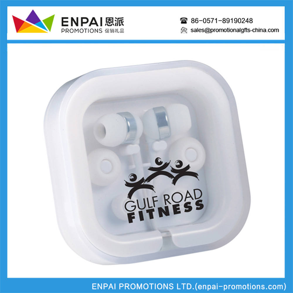 Wholesale Promotion Logo Printed Wired Earphone From China Factory