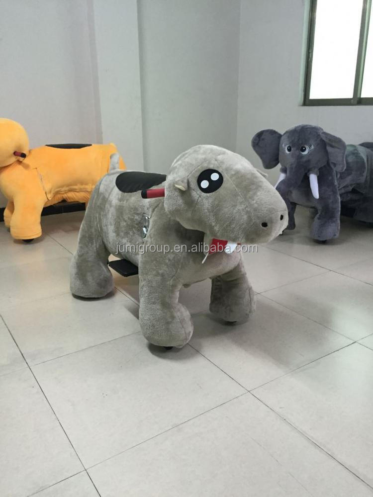 New arrival hi ce 2015 new baby kids plush ride on horse toys