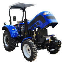 4 wheel 50 HP agricultural farm tractor with canopy