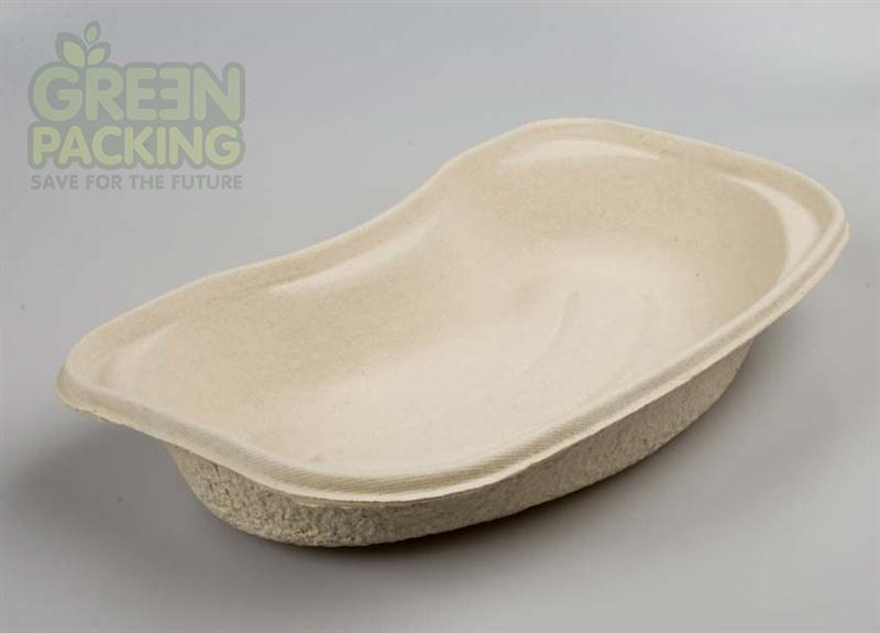 Color customized disposable kidney shaped vomit basin