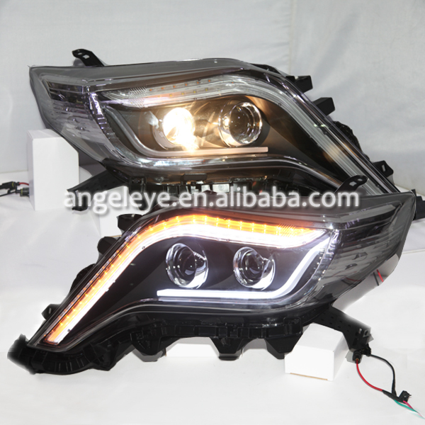 2014-2015 Year For Toyota Prado Land Cruiser Fj150 LED Front Lights Newest Style LF