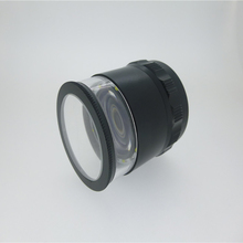 Professional 10x loupe with scale led handhels