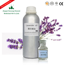 Pure natural lavender essential oil for foot spa