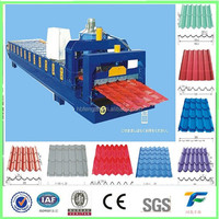 CE certificated galvanised steel roofing panel machine/aluminum wall sheet roll forming machine