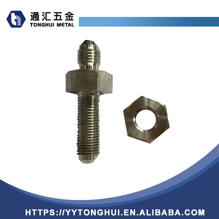 welcome ODM straight bulkhead stainless steel jic reusable hydraulic adapter hose fittings,straight connector