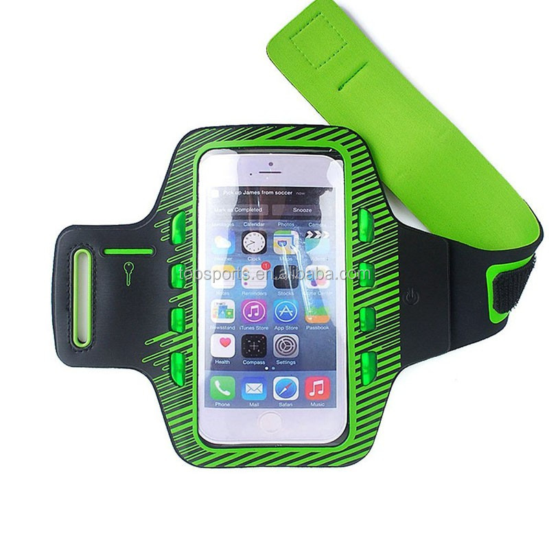 Unisex great sport armband with led most popular products china
