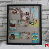2015 Magnetic Picture Frame Collage For Refrigerator - Holds Photos add photo frame