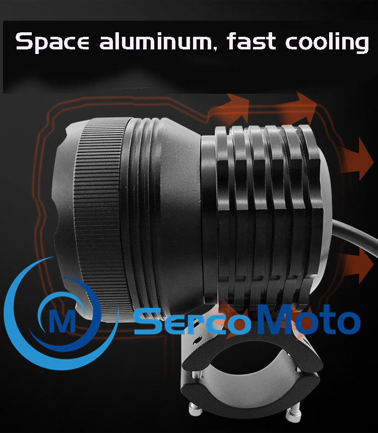 2019 Sercomoto high/low/strobe 3 model motorcycle led driving light for R1200GS/S1000RR/R1200RT/R1200GS Adventure/F800GS/R nineT