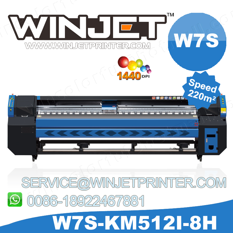Allwin large format printing machine 3.2m/Konica outdoor printer/Eco solvent Printer