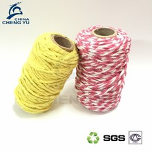 Wholesale recycled cotton polyester mixed mop yarn
