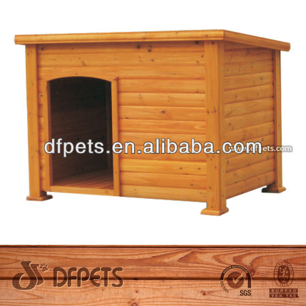 Outdoor Large Wooden Dog Crate DFD025