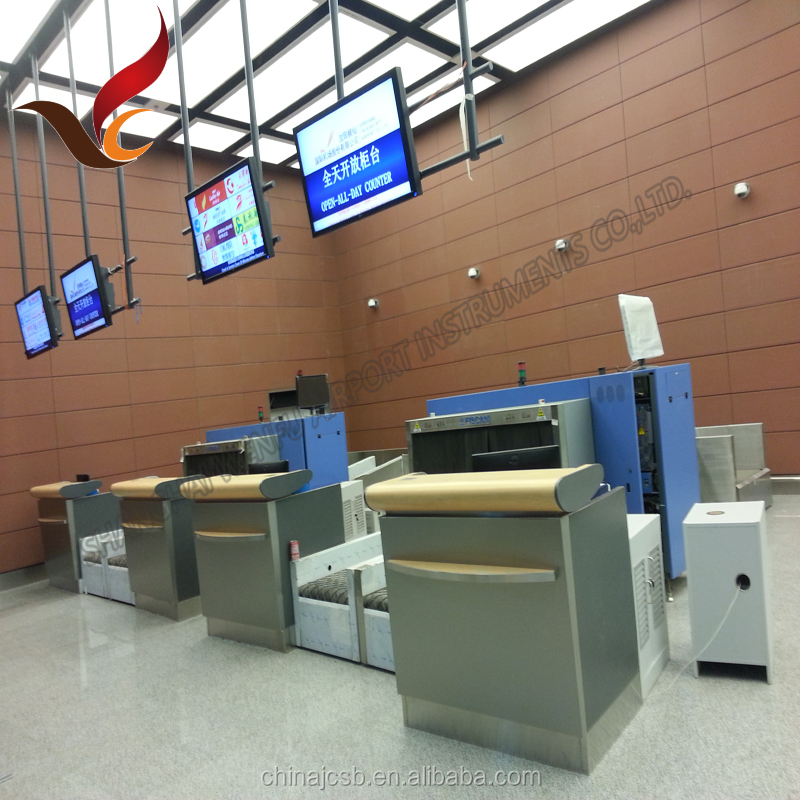 2016 manufacture New design airport check in kiosk counter
