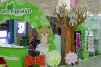 eco-friendly paper board for trade show display