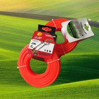 YiWu star shape Nylon Grass cutter Trimmer Line professional tools line Nylon grass Trimmer Line manual hand grass cutter