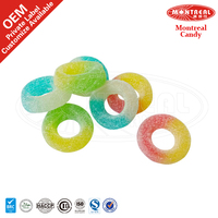 Gummy snack candy