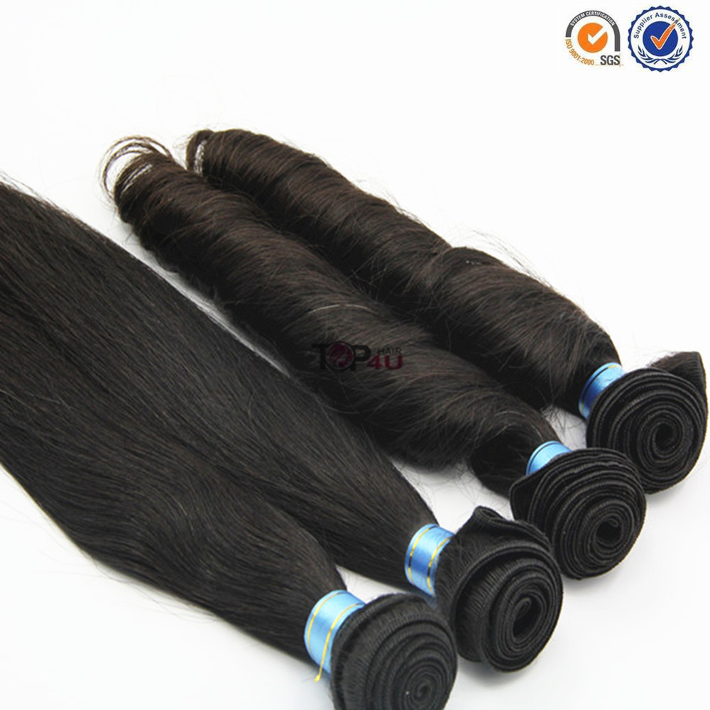 100% Natural Eurasian Hair Weaving Extensions