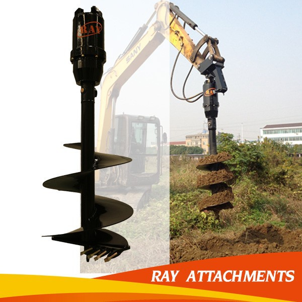 PROFESSIONAL plant hole digger/post hole digger parts/post hole digger auger drill