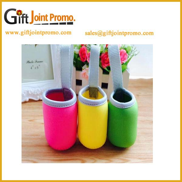 Professional customized neoprene bottle carrying pouch/cover
